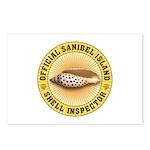 Sanibel Island Shell Insp Postcards (Package of 8)
