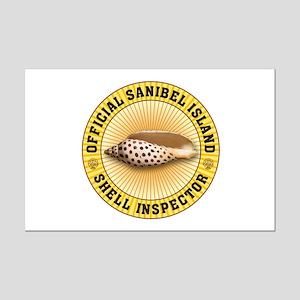 Sanibel Island Shell Inspector Mini Poster Print