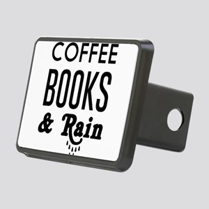 Coffee book and rain Hitch Cover