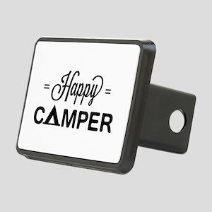 Cute happy camper Hitch Cover