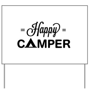 Camper Yard Signs