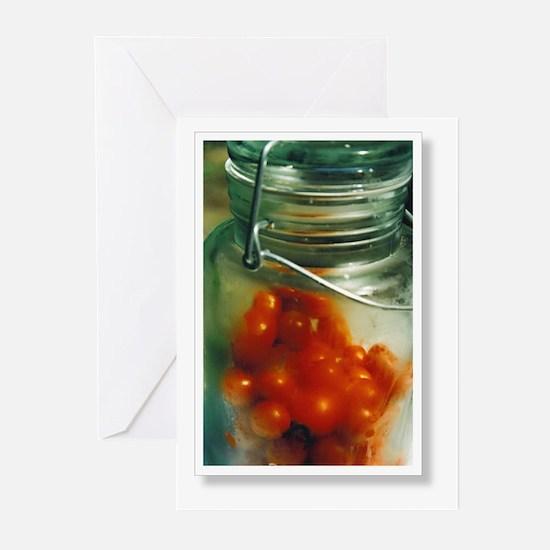 camara cherryTomatoes Greeting Cards (Pk of 10)