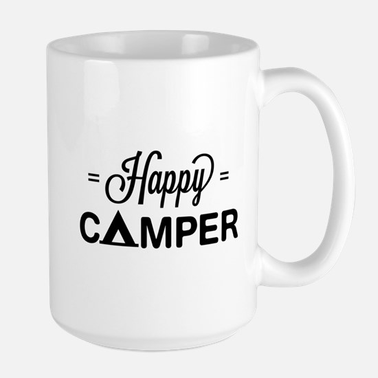 Cute happy camper Mugs