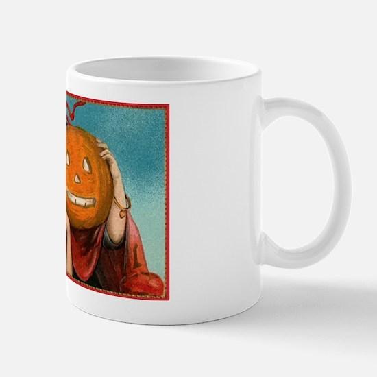 Jack-o-Lantern Girl Mug