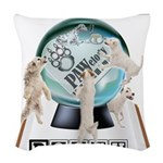 PAWelody Play It Again Woven Throw Pillow