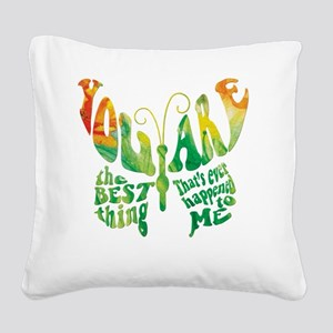 The Best Square Canvas Pillow