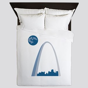 St. Louie Arch Queen Duvet