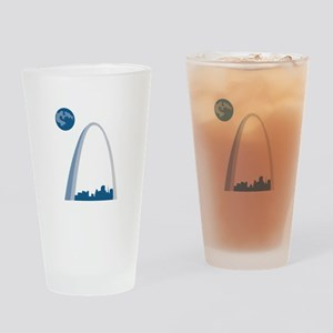 St. Louie Arch Drinking Glass