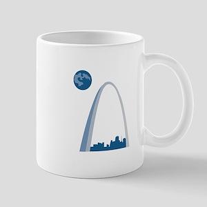 St. Louie Arch Mugs