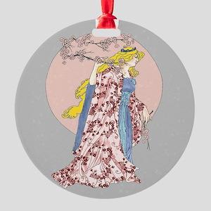 cherry blossom moon Ornament