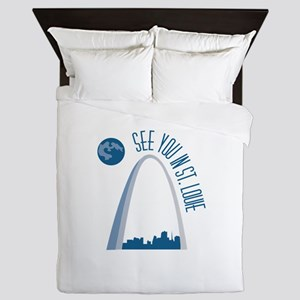 See You In St.Loue Queen Duvet