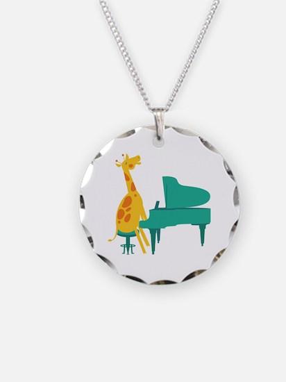 Piano Giraffe Necklace