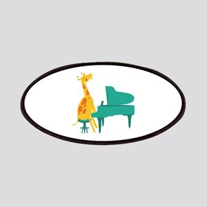 Piano Giraffe Patches