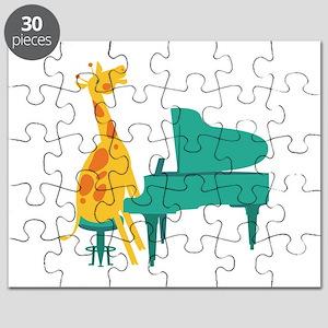 Piano Giraffe Puzzle