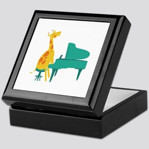 Piano Giraffe Keepsake Box