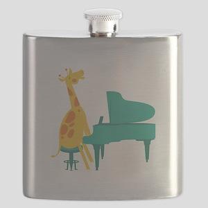 Piano Giraffe Flask