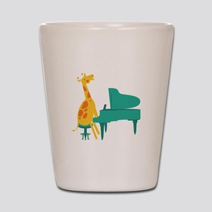 Piano Giraffe Shot Glass