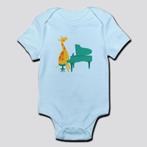 Piano Giraffe Body Suit
