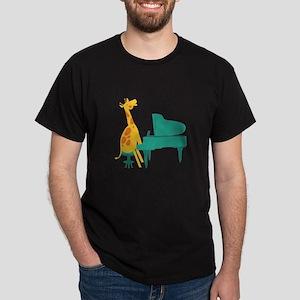 Piano Giraffe T-Shirt