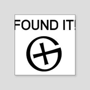 Found it cache Sticker