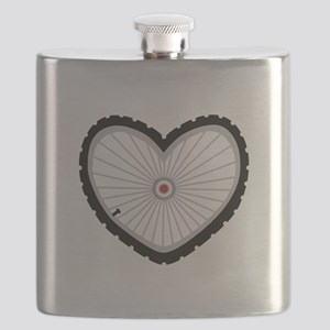 Love Bicycle Flask