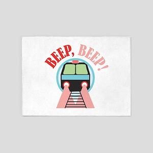 Beep, Beep! 5'x7'Area Rug