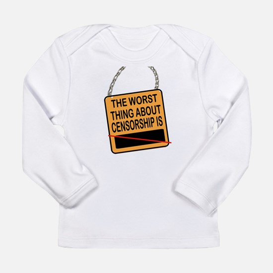 CENSORSHIP Long Sleeve T-Shirt
