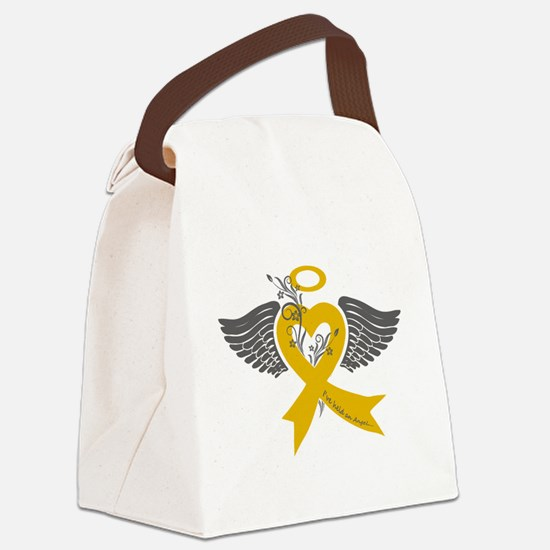 I've held an Angel (Childhood Cancer) Canvas Lunch