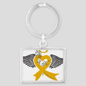 I've held an Angel (Childhood Cancer) Keychains