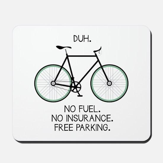 Free Parking Mousepad