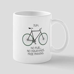 Free Parking Mugs