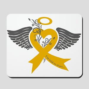I've held an Angel (Childhood Cancer) Mousepad