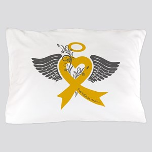 I've held an Angel (Childhood Cancer) Pillow Case