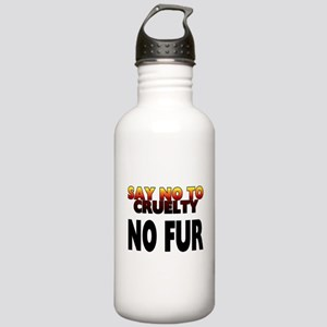 Say no to cruelty. No Stainless Water Bottle 1.0L