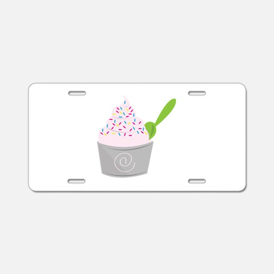 I Scream For Icecream Aluminum License Plate