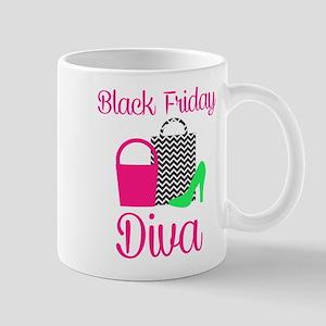 black friday diva Mugs