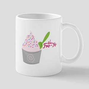 I Love Fro-Yo Mugs