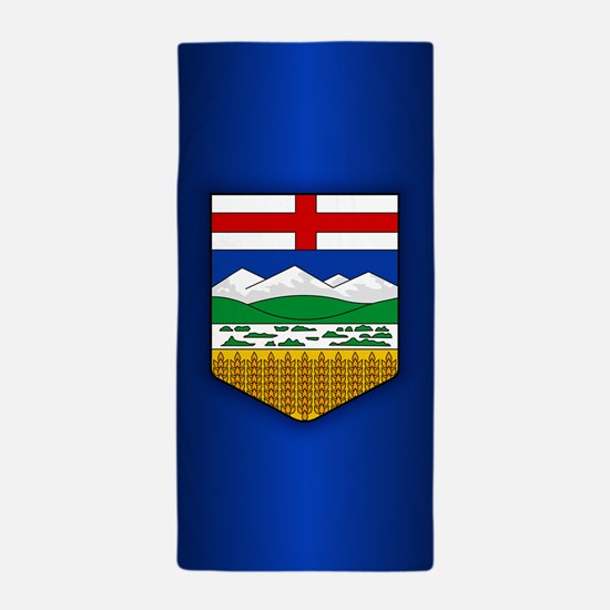 Alberta Flag Beach Towel