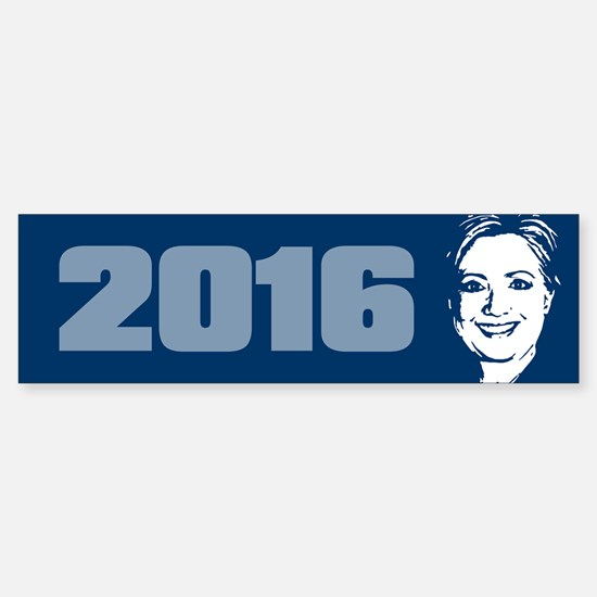 Hillary Clinton 2016 Sticker (Bumper)