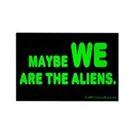 Aliens Rectangle Magnet