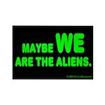 Aliens Rectangle Magnet (100 pack)