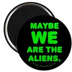 Aliens Magnet