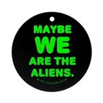 Aliens Ornament (Round)