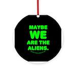 Aliens Ornament (Round)