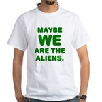 Aliens White T-Shirt