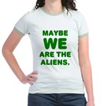 Aliens Jr. Ringer T-Shirt