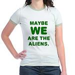 Aliens Jr. Ringer T-Shirt