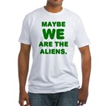 Aliens Fitted T-Shirt