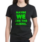 Aliens Women's Dark T-Shirt