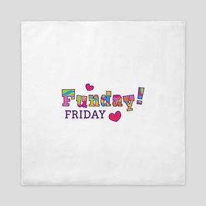 Friday Funday! Queen Duvet